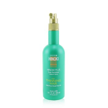 Hayashi Hinoki Plus Scalp Revitalizer Leave-In Spray (For Thinning Hair)