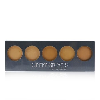 Cinema Secrets Ultimate Foundation 5 In 1 Pro Palette - # 500B Series (Medium To Deep Pink Beige Undertones)